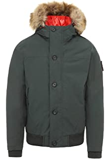1fc5b89744e Timberland Mens Snowdon Peak M65 3-in-1 Jacket in Griege XL  Amazon ...