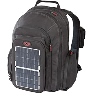 Voltaic Systems 1010 OffGrid Solar Backpack, Removable Front Charging Panel - 4W Solar Charger, 3000mAh Battery - For Handheld Electronics - Silver (cp)