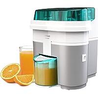 Cecotec EssentialVita Twice White elektrische citruspers, 90 W, dubbele kop en snijder, vruchtvleesfilter, glas 500 ml…