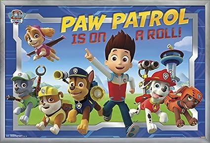 Trends International Paw Patrol-Crew Premium Wall Poster 22.375 x 34 22.375 x 34 POD13514
