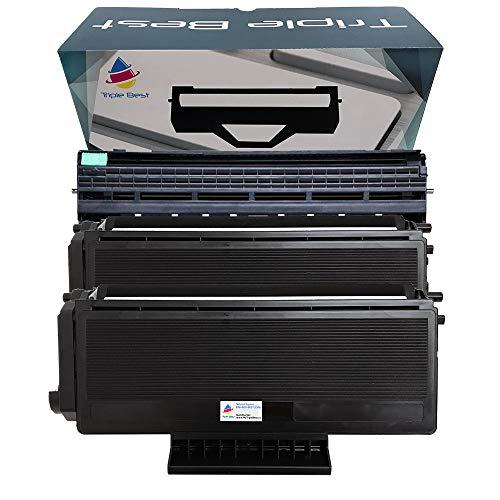 (Triple Best Compatible Toner Cartridge & Drum Unit Replacement for Brother TN-580 TN580 TN-650 TN-650 DR-520 DR520 DR-620 DR620 (2 x Toner Cartridge & 1 x Drum Unit))