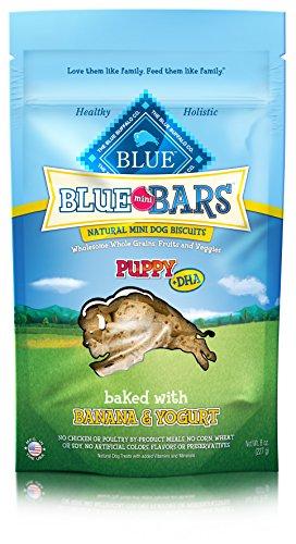 Blue Buffalo Mini Blue Bars Banana & Yogurt Puppy Biscuits 8 oz. ()