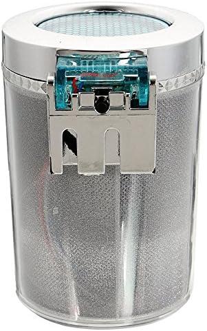 Yaootely Auto-Aschenbecher-Mehrfarbenauto-tragbare Auto-Reise LED beleuchtet Zigaretten-Zylinder