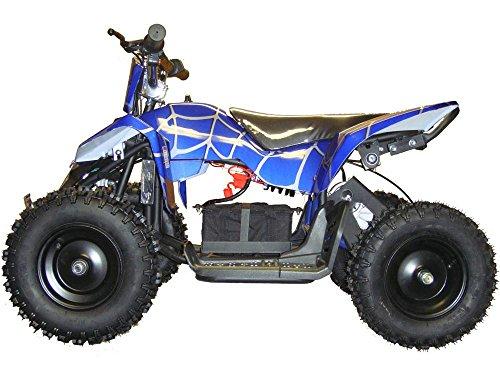 Sahara X Outdoor Kids Children 24V Blue Mini Quad ATV Dirt ...