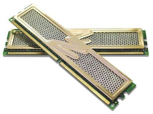 (OCZ OCZ2G10664GK 4GB 1066MHz PC2-8500 Gold Edition Dual Channel DDR2 Kit)