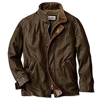 Amazon.com: Orvis Denver Leather Jacket / Lone Pine Denver