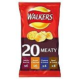 british potato crisps - Walkers Meaty Selection Crisps 20 Pack