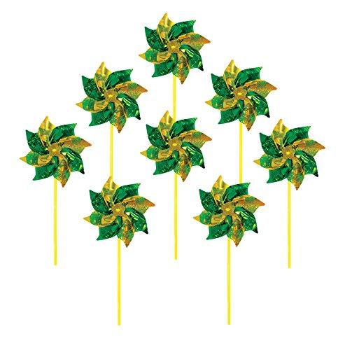 Yellow Pinwheel - 2