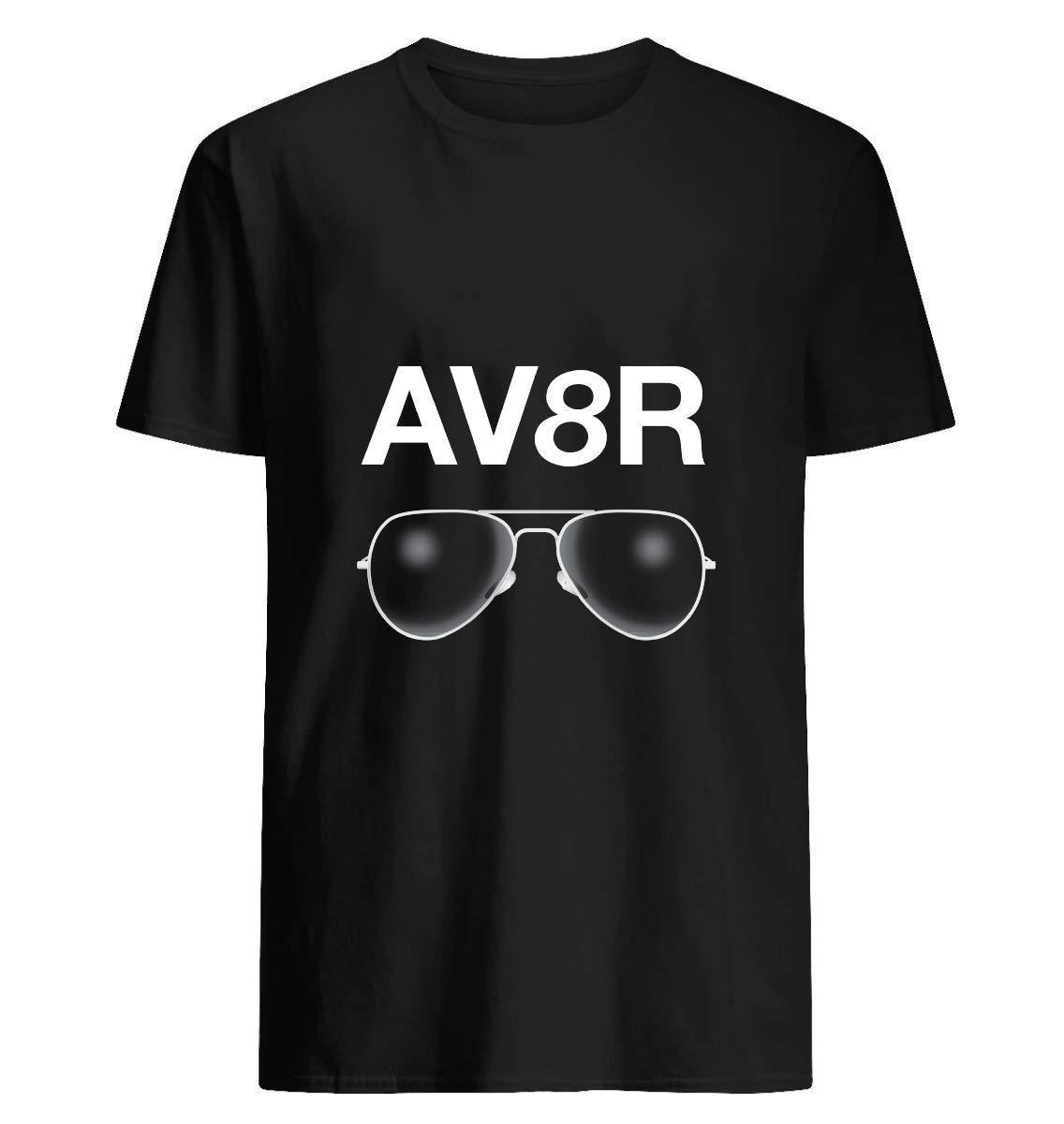 Av8r With A Pair Of Aviator Sunglasses 9 T Shirt For Unisex