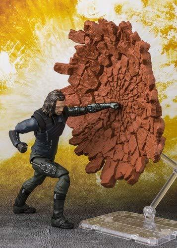 "Tamashii Nations S.H. Figuarts Bucky & Tamashii Effect Impact ""Avengers Infinity War"""