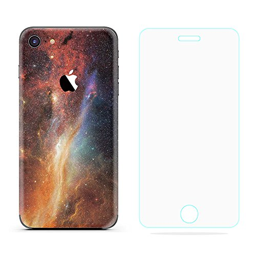 (Lee&Van Creative Color Ultra-thin Sticker iPhone Case, Protective Cover Case Wrap for iPhone, Instead Of Similar Phone Shell Case In The Market,Including Glass Screen Protector.(iPhone 7) )