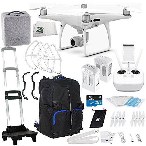 DJI Phantom 4 PRO Quadcopter Essentials Travel Backpack Bundle Kit
