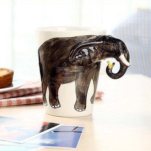 Blogger Hand painted Animals Ceramic Elephant product image