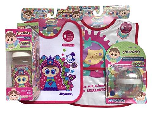 Distroller Estuche de Accesorios de Bebe para Niñas, color Rosa, Pequeño