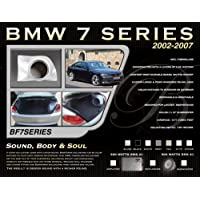 BassForms BF7SERIES Custom 10 Fiberglass Enclosure for 2002-2009 BMW 7 Series
