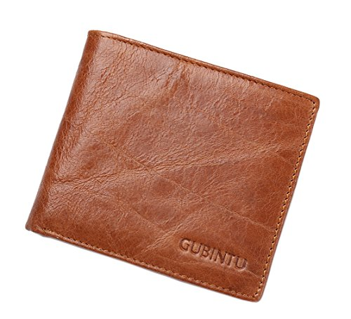 Coffee Leather HopeEye Cowhide jblqb08 Brown Men Retro 1 Classic Wallets Genuine 2 XwgFzgq
