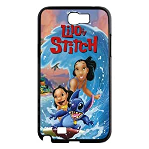 High Quality {YUXUAN-LARA CASE}Lilo & Stitch - Ohana Means Family For Samsung Galaxy Note 2 STYLE-5