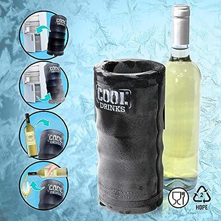 Enfriador de Botellas Vino Champagne refrescos / Nevera Camping / Playa Portátil, cómodo, rápido y Elegante