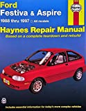 Haynes Publication 36030 Ford Festiva Aspire Fits 1988 1997 Repair Manual Book