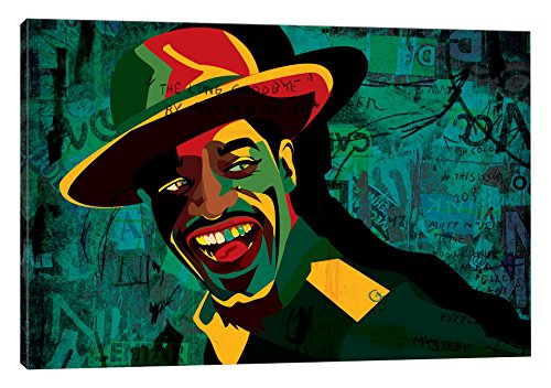 iCanvasART Andre 3000 Canvas Print by Dai Chris Art, 18