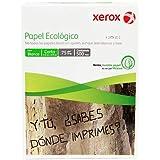 Xerox XER 3M2010 Paquete de 500 Jojas Papel Bond Blanco Ecologico T/Carta, 8.5x11,