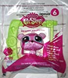 2015 Mcdonald's Happy Meal Toy Littlest Pet Shop Petshop # 6 Regina Vogel