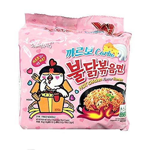 (Samyang Bulldark Spicy Chicken Roasted Noodles (Carbo 5 Pk))