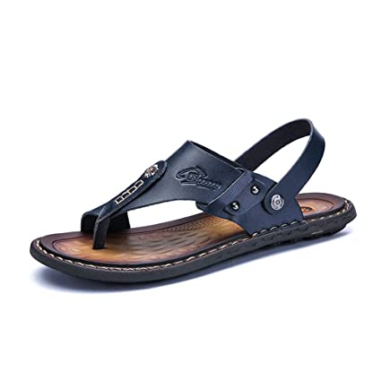 low priced e3257 1a3d5 Sharon zhou Pantofole a doppio uso per uomo Sandali a doppio ...