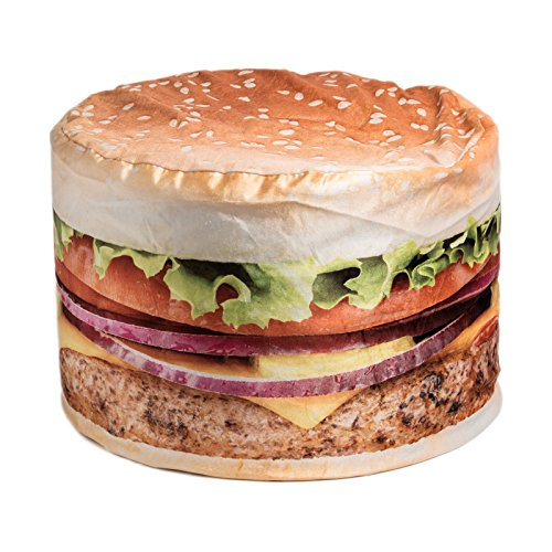 Wow! Works Hamburger Adult Beanbag Chair (86776A)