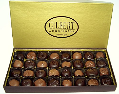 Gilbert Chocolates' Cream Assortment - 1 pound Assortment of our finest gourmet milk and dark chocolate covered creams