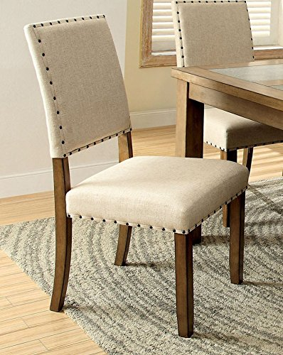 Cheap 247SHOPATHOME IDF-3531SC Dining-Chairs, Brown