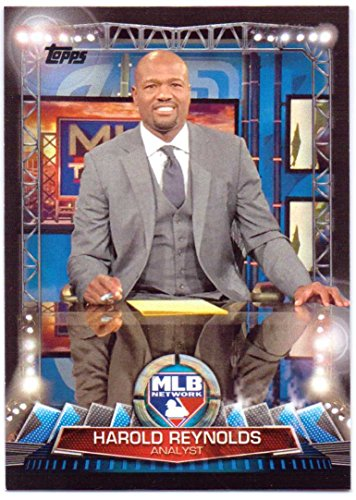 (Harold Reynolds 2017 Topps MLB Network #MLBN-8 - Seattle Mariners)