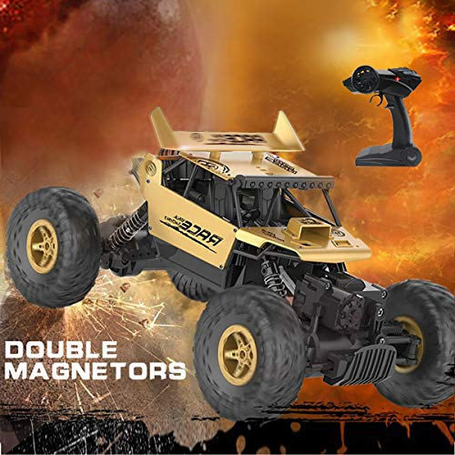 KOLAMAMA Remote Control Car,RC Car for Kids&Adults,2.4Ghz 4WD High Speed1/18 Scale Electric Racing Car Off Road Vehicle Toy