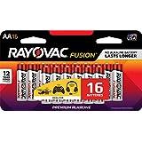 RAYOVAC AA 16-Pack FUSION Advanced Alkaline Batteries, 815-16LTFUSJ