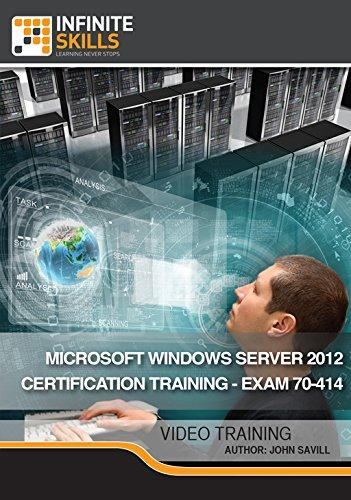 Microsoft Windows Server 2012 Certification Training - Exam 70-414 [Online Code] by Infiniteskills