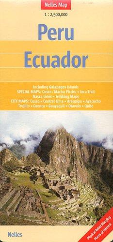 Peru - Ecuador: 1 : 2,500,000 (Nelles Map)