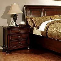 247SHOPATHOME Idf-7682N, nightstand, Cherry
