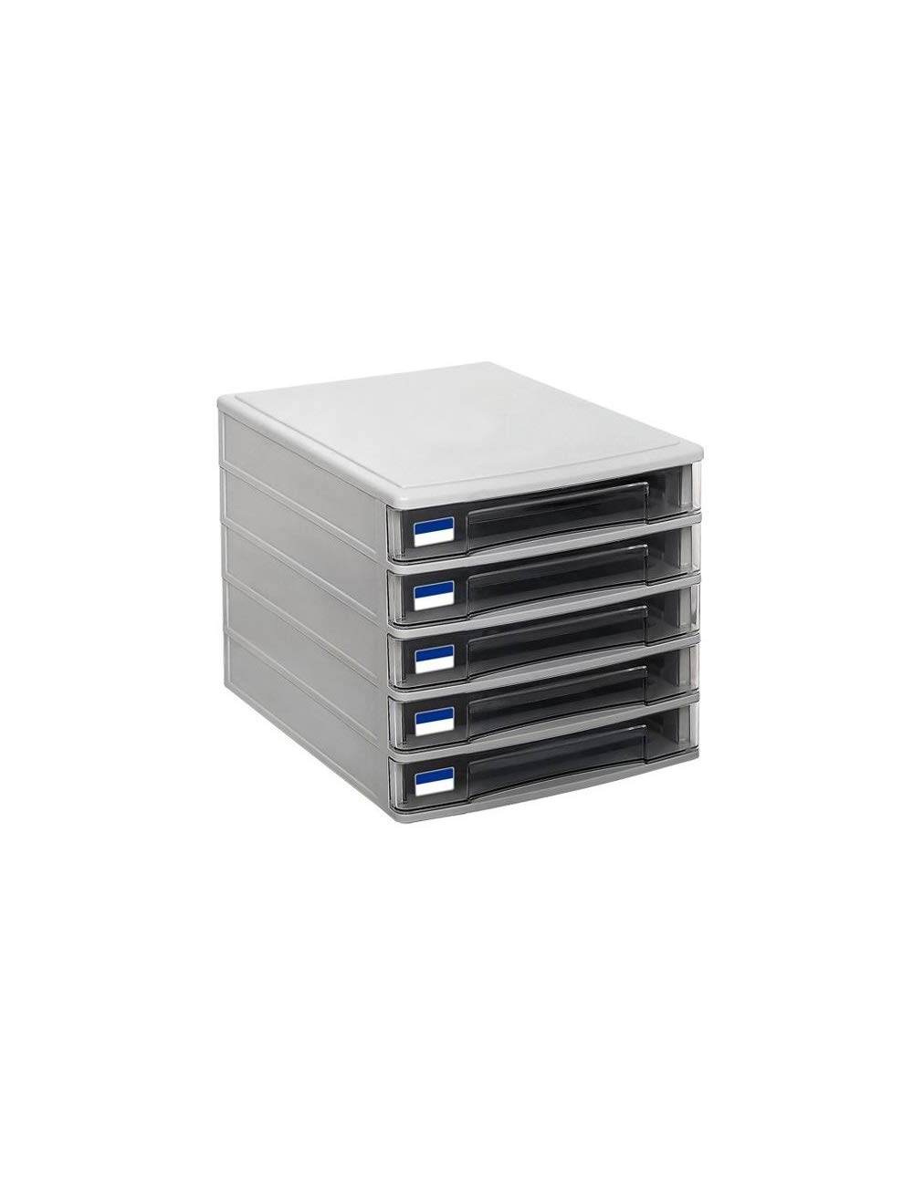 File Cabinets 5 Drawers Innovation Charming Design Gray, Pink Office File Manager Locker Desktop Manager (Color : A)