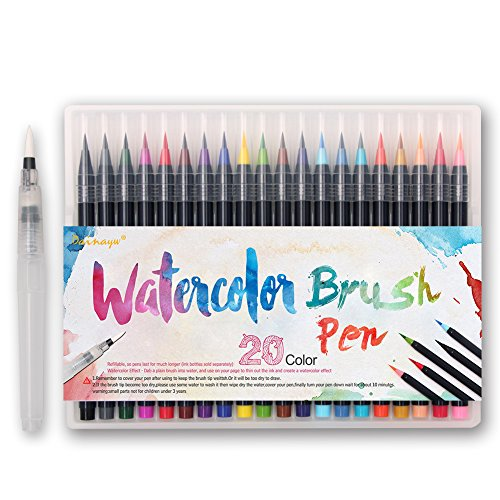 Dainayw Watercolor Marker Flexible Durable product image