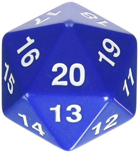 Koplow 14797 D20 Single 55 mm Countdown Blue Bagged by Koplow Games