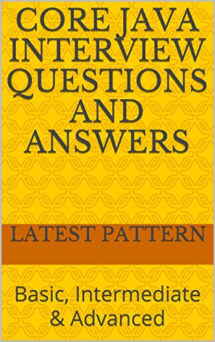 Java Interview Questions And Answers Ebook