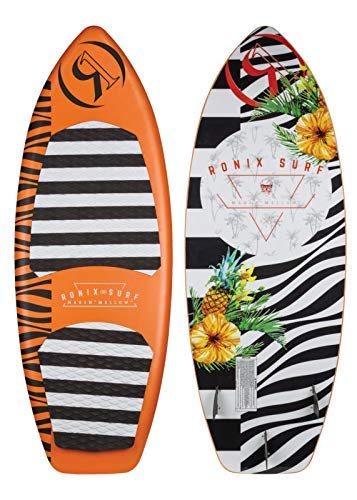Ronix Marsh ''Mellow'' Thrasher (Orange Pineapple Express) Wakesurfer-4'8'' by RONIX