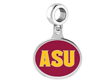 Arizona State University Sun Devils Sterling Silver Logo Charm