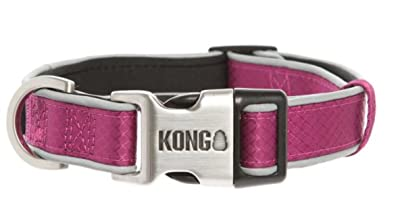 Kong Reflective Premium Dog Collar