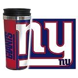 Boelter Brands New York Giants Travel Mug 14oz Full Wrap Style Hype Design