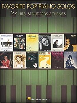 Book Favorite Pop Piano Solos