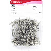 Singer T-Pins, 50-Count
