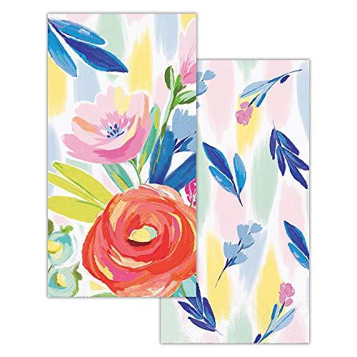 - Elise Paper Hand Towels for Bathroom Disposable Guest Towels Fingertip Towels or Paper Napkins for Dinner Napkins 2-Sided Floral 8