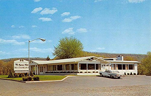 Clearfield Pennsylvania Captains Table Restaurant Vintage Postcard K87419