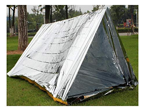 Emergency Tent Survival Folding Camping Rescue Reflective Shelter Blanket Bag by Unknown